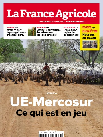 Couverture du magazine La France Agricole n°3737