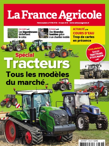 Couverture du magazine La France Agricole n°3738-3739