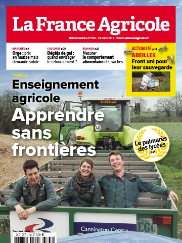Couverture du magazine La France Agricole n°3740