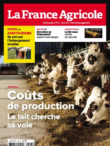 Couverture du magazine La France Agricole n°3742