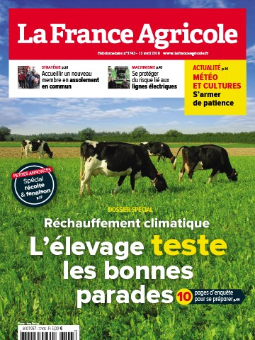 Couverture du magazine La France Agricole n°3743