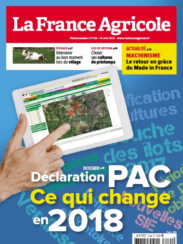 Couverture du magazine La France Agricole n°3744