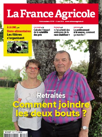 Couverture du magazine La France Agricole n°3747