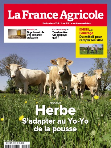 Couverture du magazine La France Agricole n°3748
