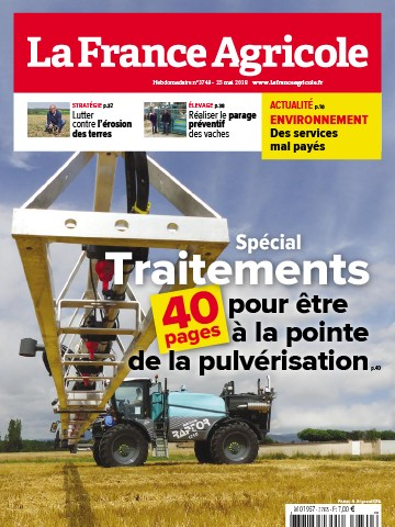 Couverture du magazine La France Agricole n°3749