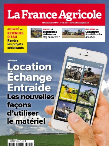Couverture du magazine La France Agricole n°3750