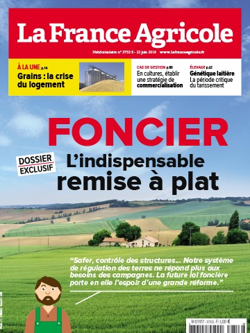 Couverture du magazine La France Agricole n°3753