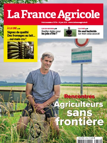 Couverture du magazine La France Agricole n°3754
