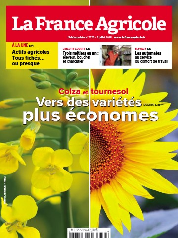Couverture du magazine La France Agricole n°3755