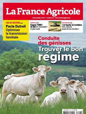 Couverture du magazine La France Agricole n°3757