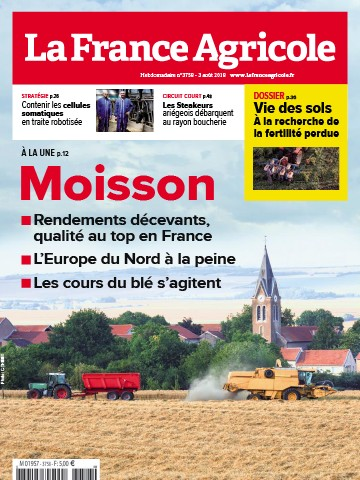 Couverture du magazine La France Agricole n°3758