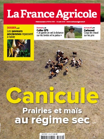 Couverture du magazine La France Agricole n°3759