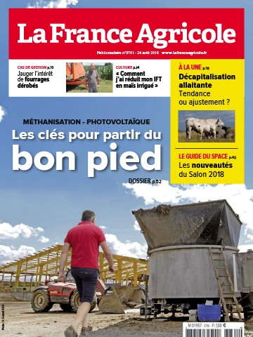 Couverture du magazine La France Agricole n°3761