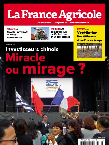 Couverture du magazine La France Agricole n°3766
