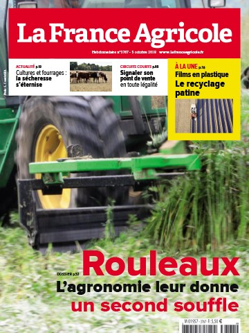 Couverture du magazine La France Agricole n°3767