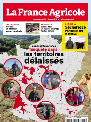 Couverture du magazine La France Agricole n°3768