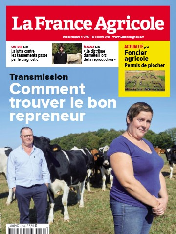 Couverture du magazine La France Agricole n°3769