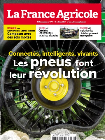 Couverture du magazine La France Agricole n°3770