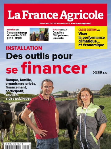 Couverture du magazine La France Agricole n°3772