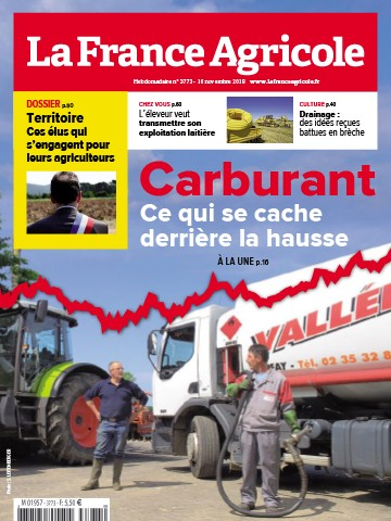 Couverture du magazine La France Agricole n°3773