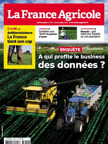 Couverture du magazine La France Agricole n°3774