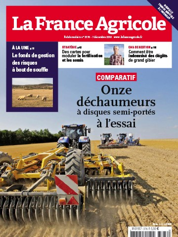 Couverture du magazine La France Agricole n°3776