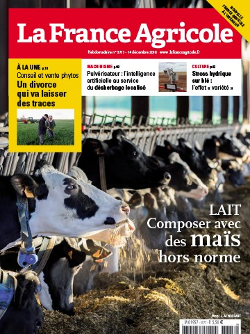 Couverture du magazine La France Agricole n°3777