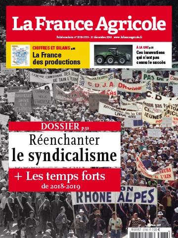 Couverture du magazine La France Agricole n°3778