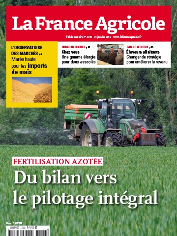 Couverture du magazine La France Agricole n°3780
