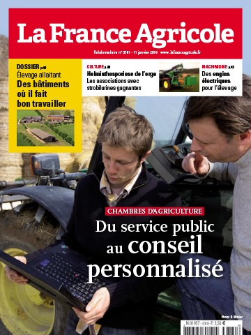 Couverture du magazine La France Agricole n°3781