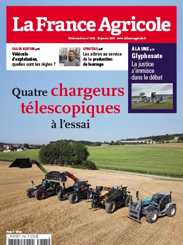 Couverture du magazine La France Agricole n°3783