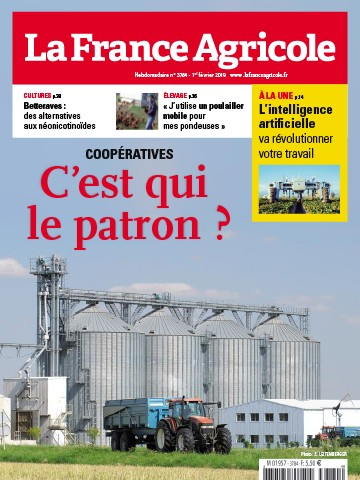 Couverture du magazine La France Agricole n°3784