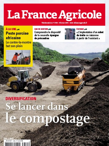 Couverture du magazine La France Agricole n°3785