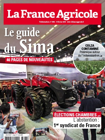 Couverture du magazine La France Agricole n°3786