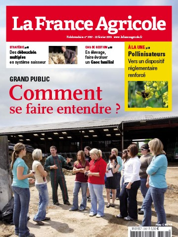 Couverture du magazine La France Agricole n°3787