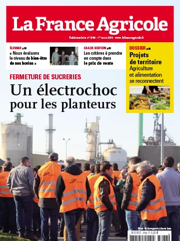 Couverture du magazine La France Agricole n°3788