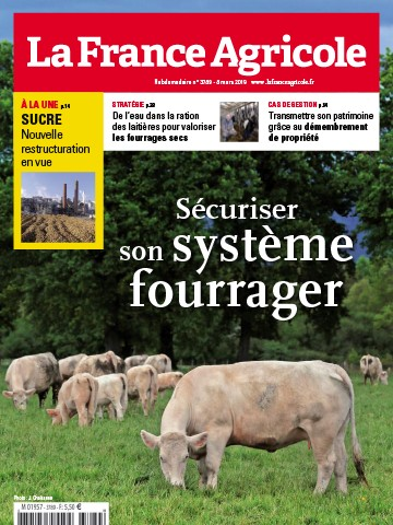 Couverture du magazine La France Agricole n°3789