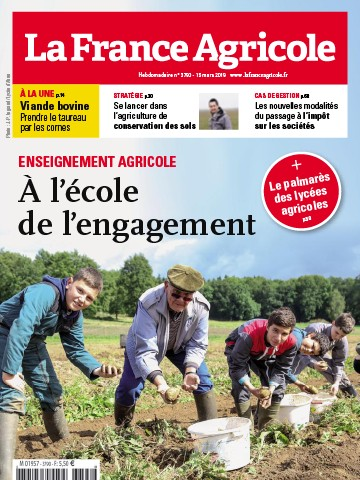Couverture du magazine La France Agricole n°3790