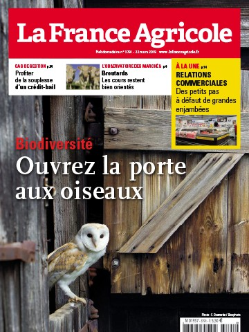 Couverture du magazine La France Agricole n°3791