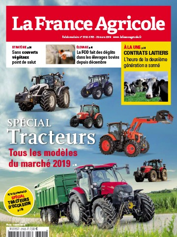Couverture du magazine La France Agricole n°3792