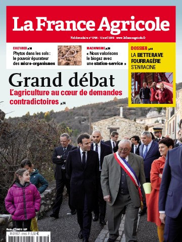 Couverture du magazine La France Agricole n°3795