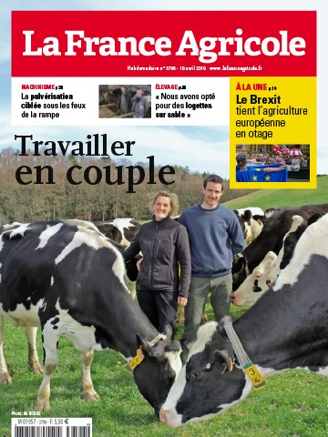 Couverture du magazine La France Agricole n°3796