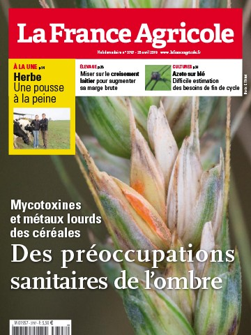 Couverture du magazine La France Agricole n°3797