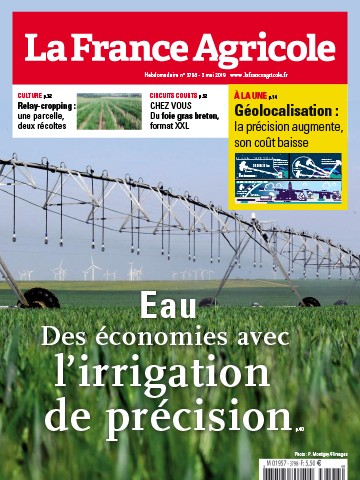 Couverture du magazine La France Agricole n°3798