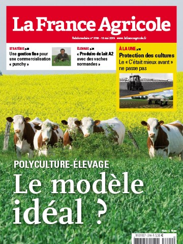 Couverture du magazine La France Agricole n°3799