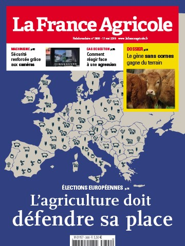 Couverture du magazine La France Agricole n°3800