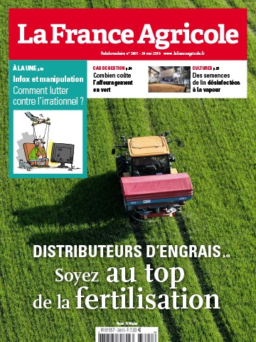 Couverture du magazine La France Agricole n°3801