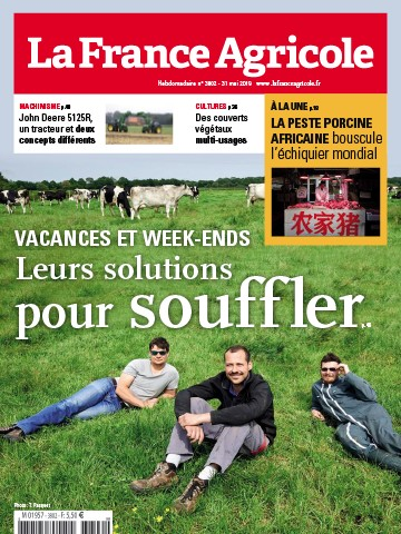 Couverture du magazine La France Agricole n°3802