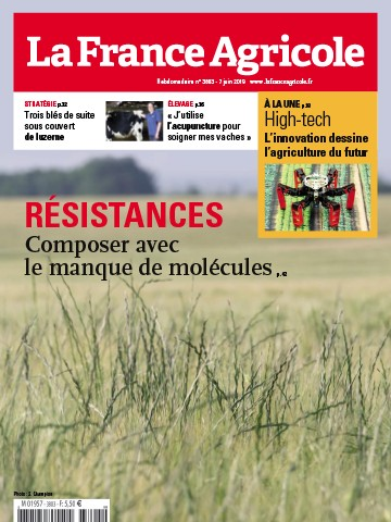 Couverture du magazine La France Agricole n°3803