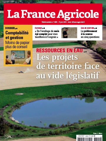Couverture du magazine La France Agricole n°3804
